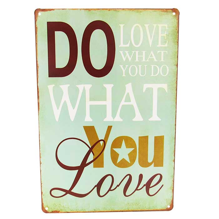 Art tin do what you love