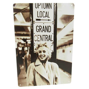 "Art tin sign ""Marilyn Monroe"""