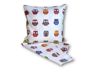 Owl combo cushion cover