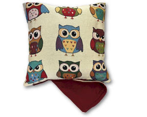 Owls nine cushion cover