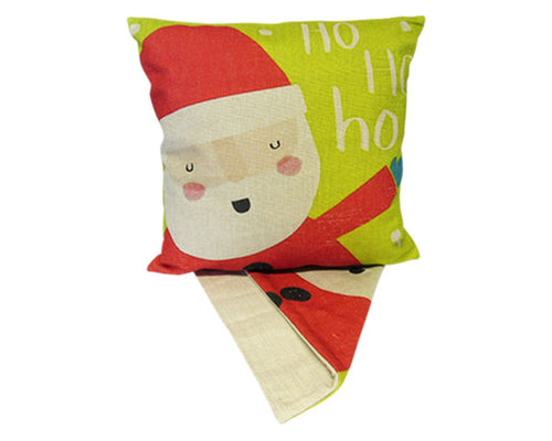 Santa ho ho ho cushion cover
