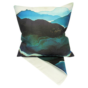 Icy night cushion cover