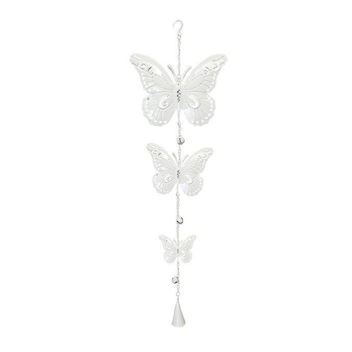 Country Chic hanger three butterflies