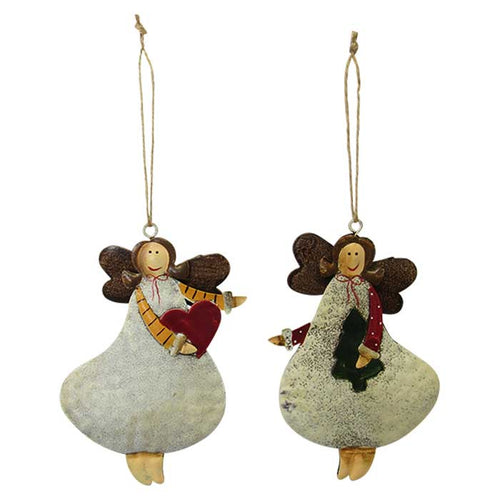 Christmas angel hangers set