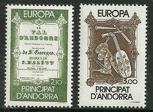 Andorra, French Admin - Scott 337-38 VF MNH