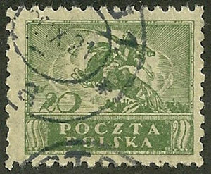 Poland - Scott 148 VF Used