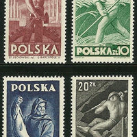 Poland - Scott 413-16 VF MNH