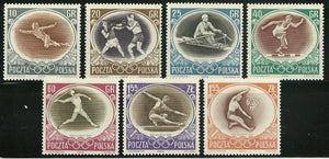 Poland - Scott 750-56 F-VF MNH