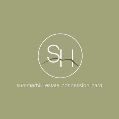 Summerhill Estate 18 Hole Concession Card