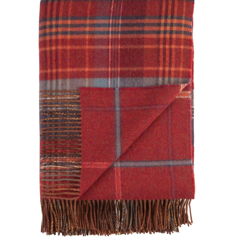 Double Face Scottish Heritage Throw