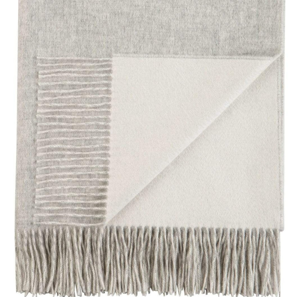 Reversible Cashmere Bed Throw