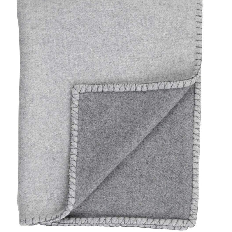 Reversible Stitched Bed Throw
