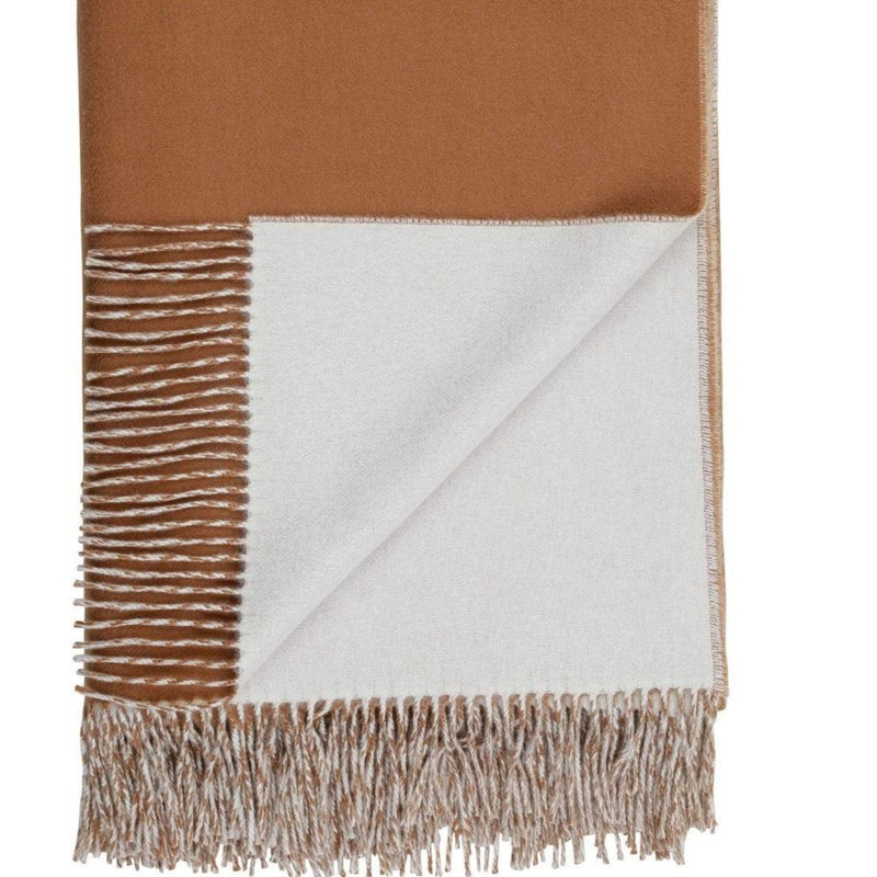 Reversible Cashmere Throw
