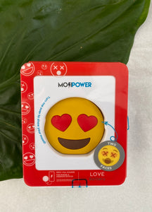 Powerbank Emoji Love Heart