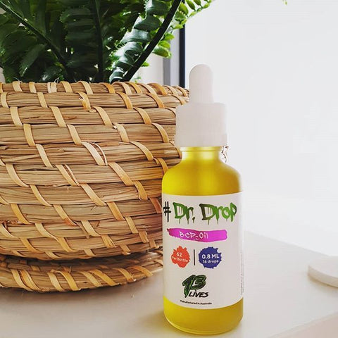 13 Lives Dr Drop BCP Oil
