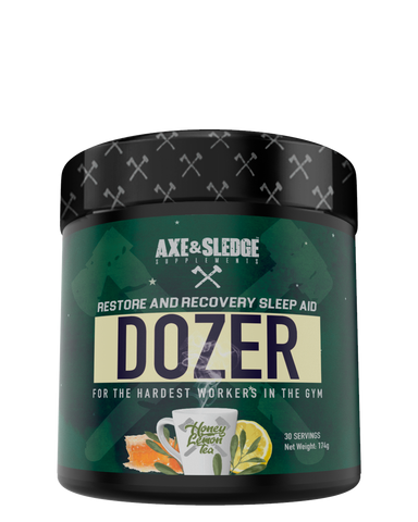 Axe and Sledge DOZER / Restore and Recover Sleep Aid 30serve
