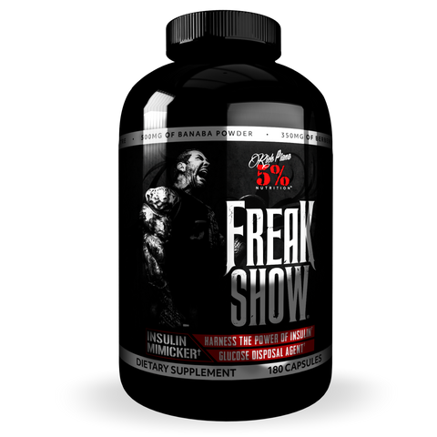 5% Nutrition Rich Piana Freak Show