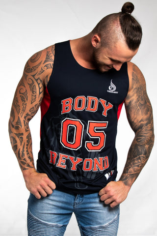 Blue Body Beyond/Ryderwear Basketball Singlet