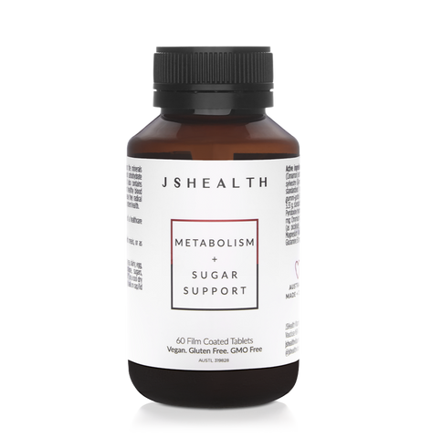JSHEALTH METABOLISM + SUGAR SUPPORT FORMULA - 60 TABLETS