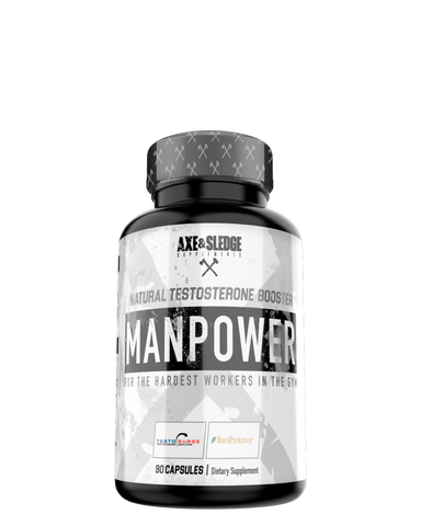 Axe and Sledge MANPOWER Natural Testosterone Booster 30serve