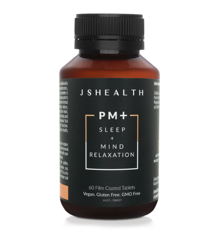 JSHEALTH PM+ SLEEP FORMULA - 60 TABLETS