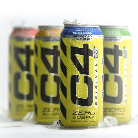C4 ORIGINAL CARBONATED CANS