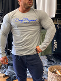 Body Beyond Long Sleeve Tee Signature Grey