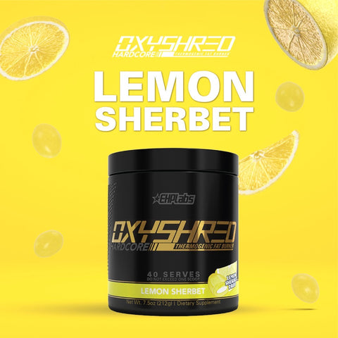 EHP Labs Limited Edition Oxyshred Lemon Sherbet