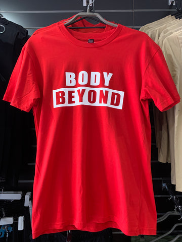 Body Beyond Red Shirt