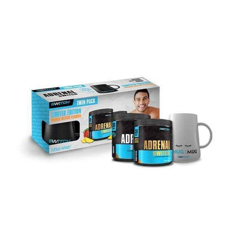 Switch Nutrition Adrenal Switch Twin Pack with Mug