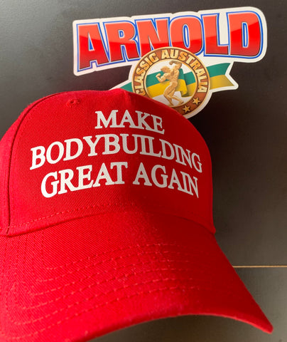 Le Trump Hat Make Bodybuilding Great Again