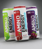 Optimum Nutrition Amino Energy cans