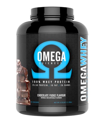 Omega Sciences Whey Blend 76 serves