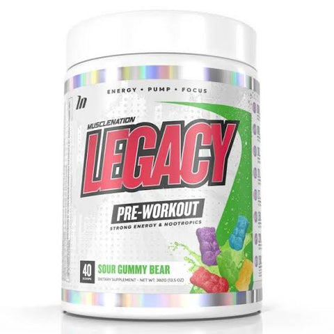 Muscle Nation Legacy Pre Workout