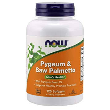 Now Foods Pygeum & Saw Palmetto Extract