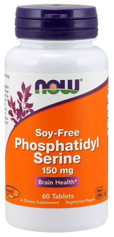 NOW Foods Phosphatidyl Serine - 60 tabs