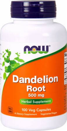 NOW Foods Dandelion Root - 100 tabs