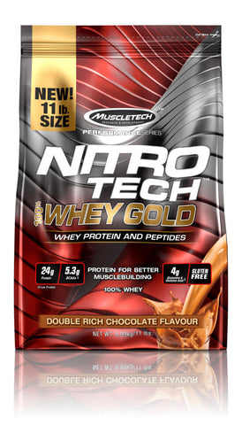 MuscleTech Nitro-Tech 100% Whey Gold 11lbs (4.99kgs)