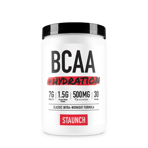 Staunch BCAA + Hydration 30 serves