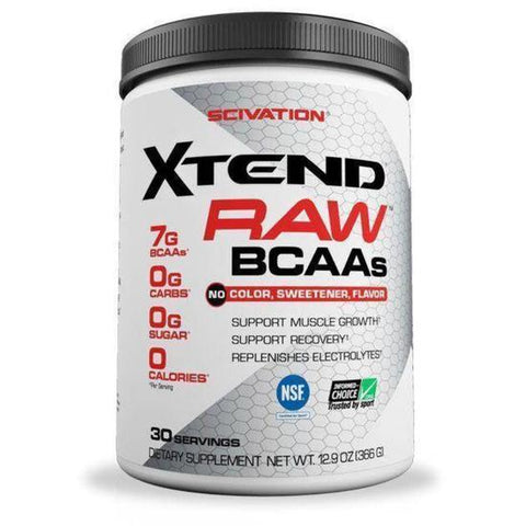 Scivation XTEND RAW BCAA