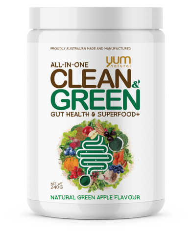 YUM Clean & Green Yum Natural 30serve