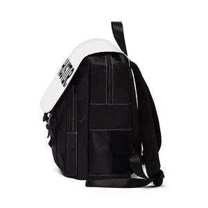 HUSTLR. LIMITED EDITION BACKPACK // Ghost White