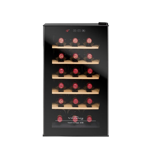 Vinvautz Wine Fridge - 18 Bottles Single Temp