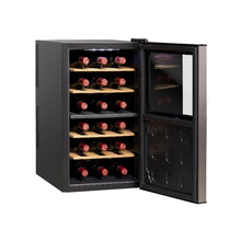 Load image into Gallery viewer, Vinvautz Wine Fridge - 18 Bottles Dual Temp