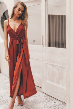Sexy Split Wide Leg Jumpsuit