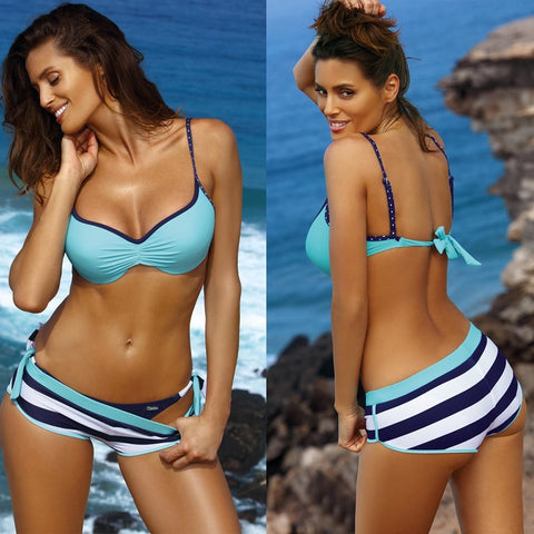 Three Piece Brazilian Bikini Set