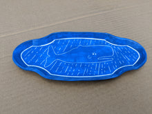 Load image into Gallery viewer, Small Porcelain Plate Whale