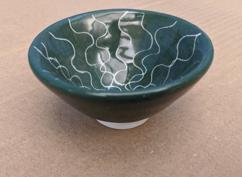 Porcelain ring bowl
