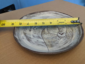 Plate Rough Earthenware Ram Plate Dinner Size