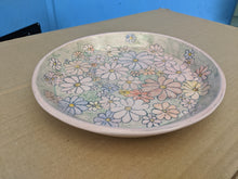 Load image into Gallery viewer, Plate Porcelain Flower Plate Dinner Size